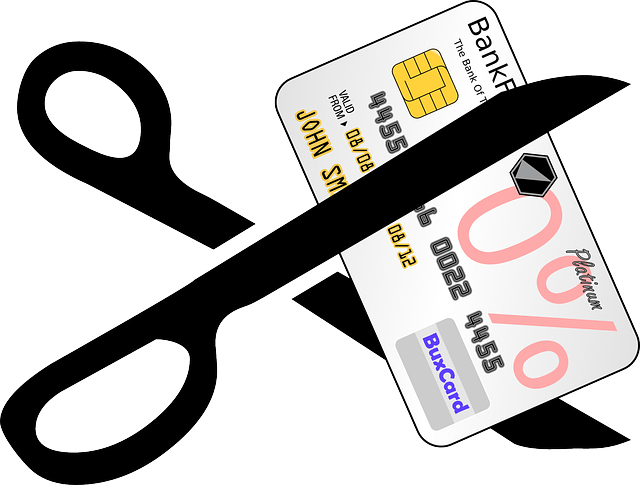 credit-card, scissors, cutting