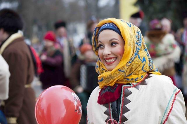 girl, carnival, artist